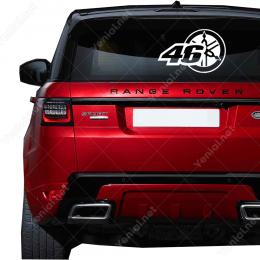 Yamaha Logosu ve 46 Numara Sticker Yapıştırma