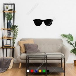 Yaz Günleri İçin Gözlük Sticker