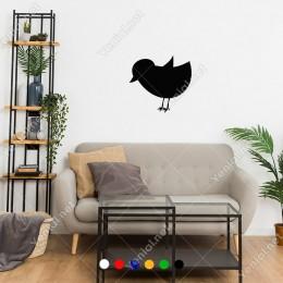 Yemini Arayan Aç Civciv Tavuk Yavrusu Sticker