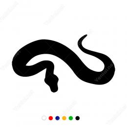 Yılan (Snake ) Sticker Etiket Çıkartma Yapıştırma