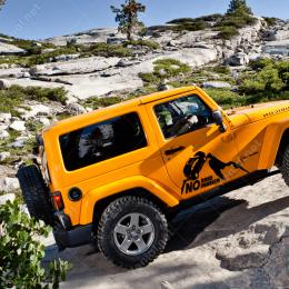 Yol Yok, Sıkıntı Yok. No Road No Problem Offroad Dakar Sticker