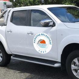 Karataş Belediyesi  Logo Baskısı
