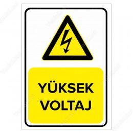 Yüksek Voltaj Levhası