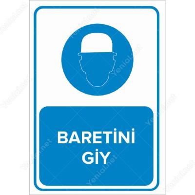 Baretini Giy Levhası