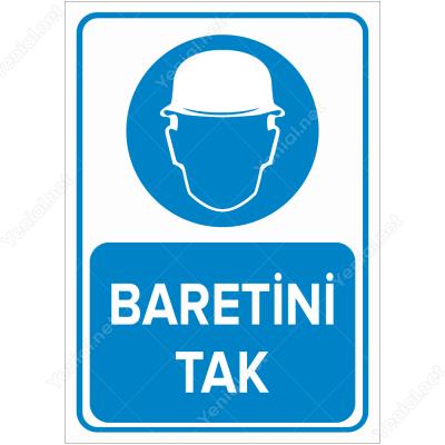 Baretini Tak Levhası