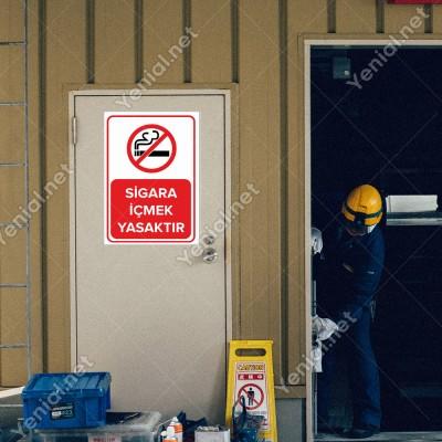 Sigara İçmek Yasaktır Levhası